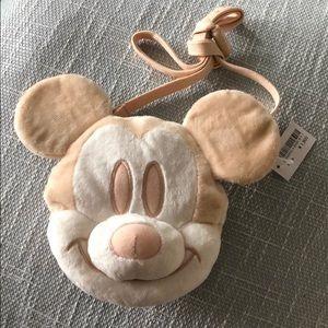 Mickey Tokyo Disney crossbody coin purse